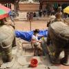 Restaurierkampagne in Nepal, © Institut für Konservierung und Restaurierung, Universität für angewandte Kunst Wien