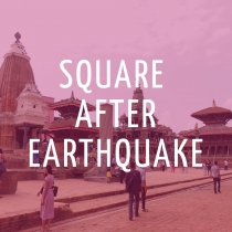 Square After Earthquake